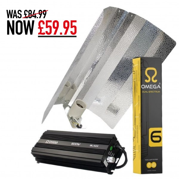 600W Omega Digital Dimmable Eurowing Lighting Kit
