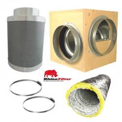 Box Fan & Rhino Filter Kits