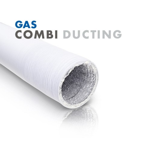 GAS White Combi Ducting